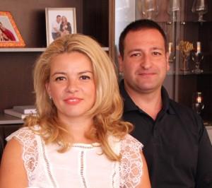 Габриела и Христо Попови управляват заедно