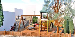 Зони за отдих за малки и големи се създават в Стария град.