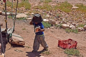 Дете в Йордания