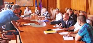 Заседанието на комисията