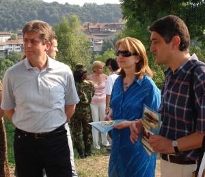 """Президентът Георги Първанов включи хълма в своята инициатива """"Съхрани българското"""""""