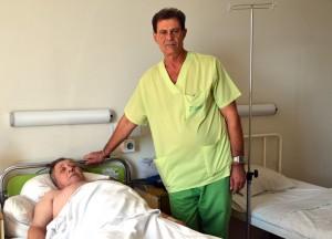 Пациент и д-р Георгиев