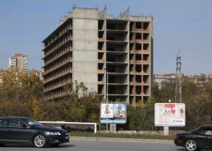 """Хипермаркет """"Кауфланд"""" ще има вместо руините на хирургическия блок."""
