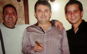 Фамилия Бърдарови – Петър, Мирослав и Григор (от ляво надясно).