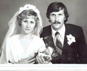 Българинът и рускинята от сватбения си ден преди 40 г.