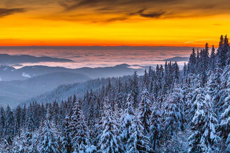 Pamporovo winter resort