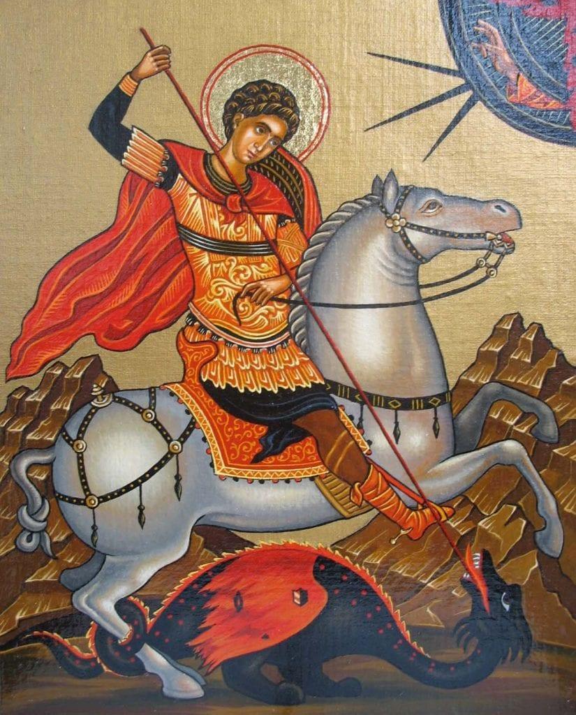 Св. Георги Победоносец е сред най-почитаните светци у нас още от покръстването на българите преди 11 века