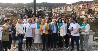 Мотопоход срещу домашното насилие премина през Велико Търново