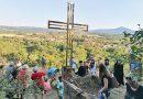 Четириметров стоманен кръст издигнаха над село Марян