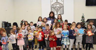 Община Лясковец проведе дванадесети поред конкурс за най-красива коледна честитка
