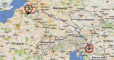 Жена шофира 1445 км вместо 145 км заради GPS грешка