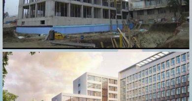 Напредва строителството на новия болничен корпус за 8 млн. лв.