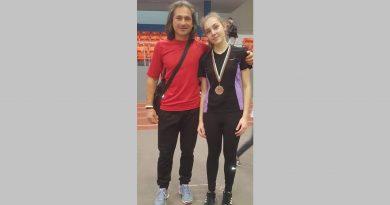 """Атлетка на """"СПРИНТ – 2020"""" с личен резултат и финал на скок дължина на Националния шампионат под 18 г."""