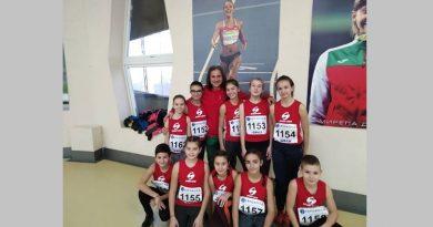 С десет състезатели участва новоучреден великотърновски клуб по лека атлетика в Националния шампионат