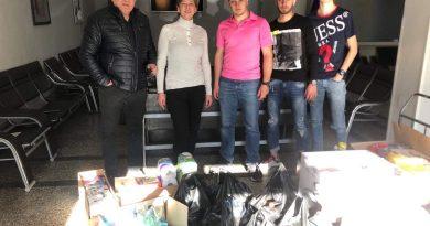 """Дарителска акция зарадва потребителите в Дома за стари хора """"Мария Луиза"""" в град Свищов"""