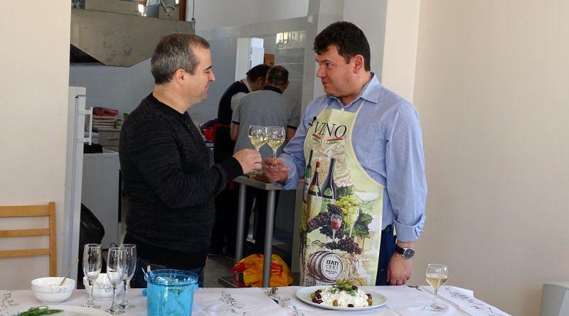Иван Звездев и Пламен Чернев направиха заедно кулинарна демонстрация