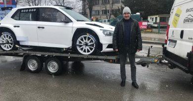 Мирослав Ангелов ще защитава титлите си с нов автомобил