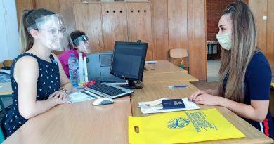 ВТУ започна записването на новоприетите първокурсници