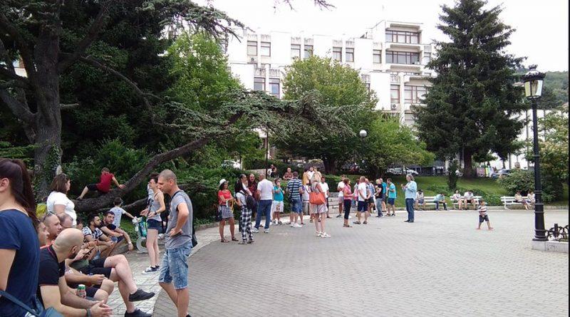Антиправителствени протести вече и във Велико Търново