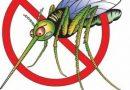 Пръскат срещу комари с горещ аерозол
