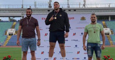 Деян Гемижев стана шампион на България на диск, детронира единадесеткратен първенец на страната