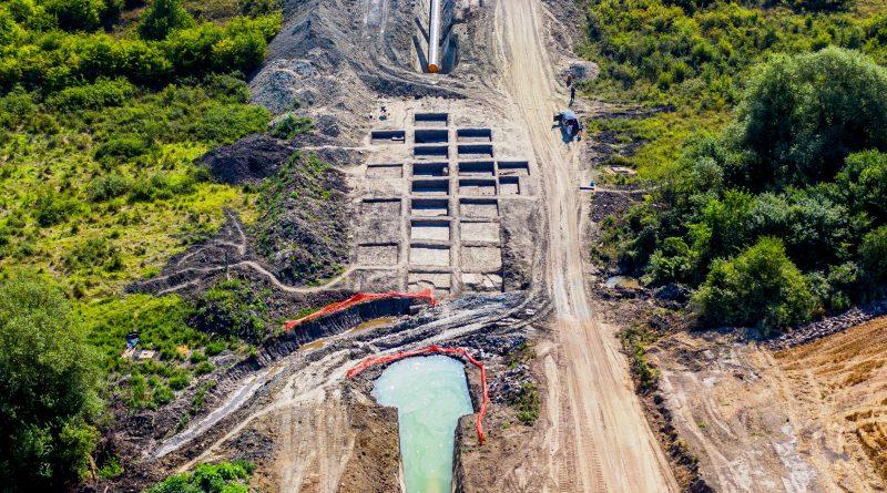 Спасителните разкопки по трасето на газопровода край Иванча приключиха