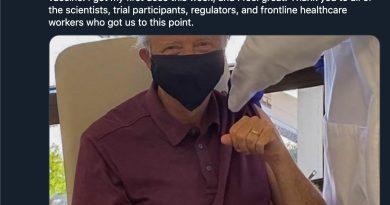 Бил Гейтс се е ваксинирал срещу коронавируса