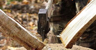 Млад мъж си извади окото, докато реже дърва