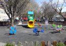 Община Свищов започна подмяната на счупени и амортизирани съоръжения в детските кътове за игра