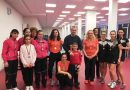 Женският тим по тенис на маса на първо място в групата