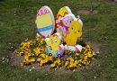 В навечерието на Великденските празници пъстра украса зарадва жителите на Свищов