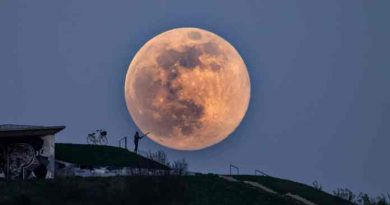 Наблюдаваме явлението супер Луна след седмица