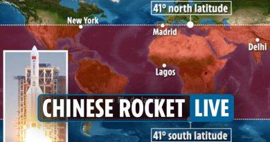 Втората степен на китайската ракета може да навлезе в атмосферата в района на Тиморско море, тази сутрин е прелетяла над Южна България