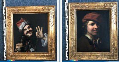 Мъж е намерил картини на 350 години в кофа за боклук на паркинг в Германия