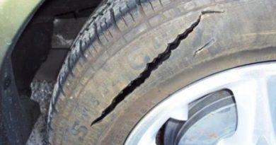Издирват вандали, нарязали гумите на автомобил във Велико Търново