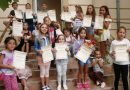 """В читалищната библиотека в Полски Тръмбеш откриха изложбата с творби на деца, участвали в """"Лято в библиотеката"""""""