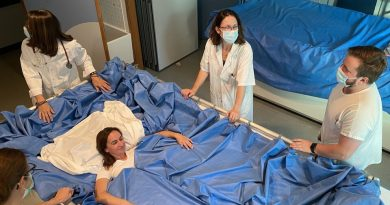 Сухо потапяне – двадесет доброволки участват в космически експеримент