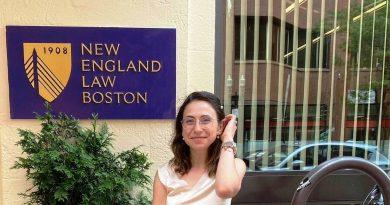 Гордостта на Полски Тръмбеш Иванела Арабаджиева учи право в Бостън