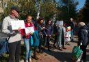 Търновци протестираха срещу въвеждането на зелен сертификат