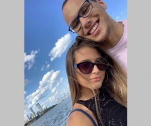 Антъни Иванов и любимата му Габриела Димитрова ще празнуват Свети Валентин от двете страни на океана