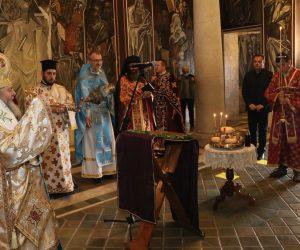 """Велико Търново почете Възнесение Господне от върха на крепостта """"Царевец"""""""