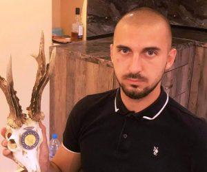 Златен медал за трофей от сръндак взе 24-годишен от Михалци