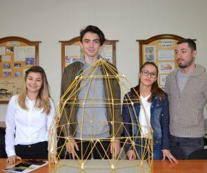 Две награди спечелиха в две състезания ученици на Гимназията по строителство
