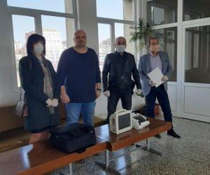 Зонта клуб и Ротари клуб Велико Търново и Елена дариха апаратура на МОБАЛ